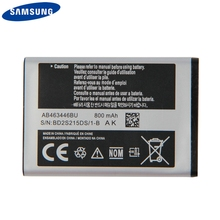 Original Replacement Phone Battery AB463446BU For Samsung C3300K X208 B189 B309 F299 E329 C3520 E1200M E339 E2330 800mAh