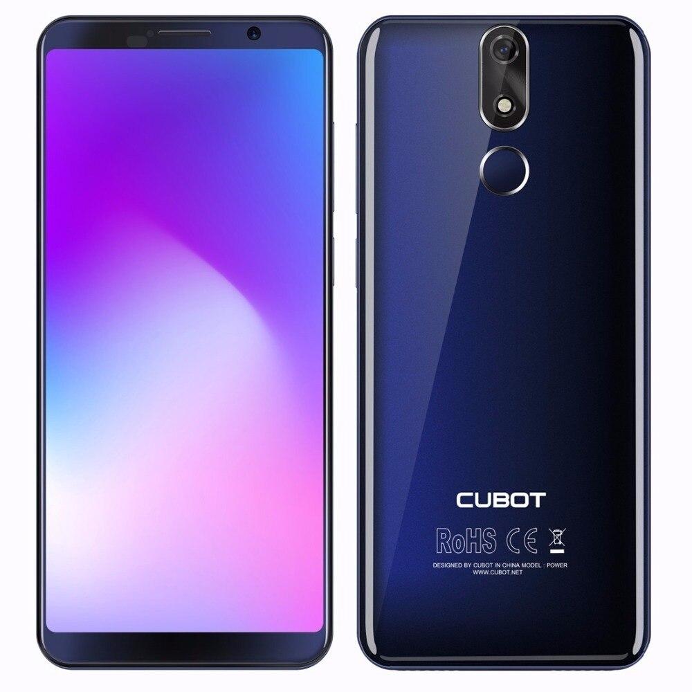 Teléfono Inteligente cubot Power 4G 6000mAh Android 8,1 6GB + 128GB 5,99 teléfonos móviles MT6760 Octa Core Identificación de huellas dactilares 16.0mp teléfono móvil - 2