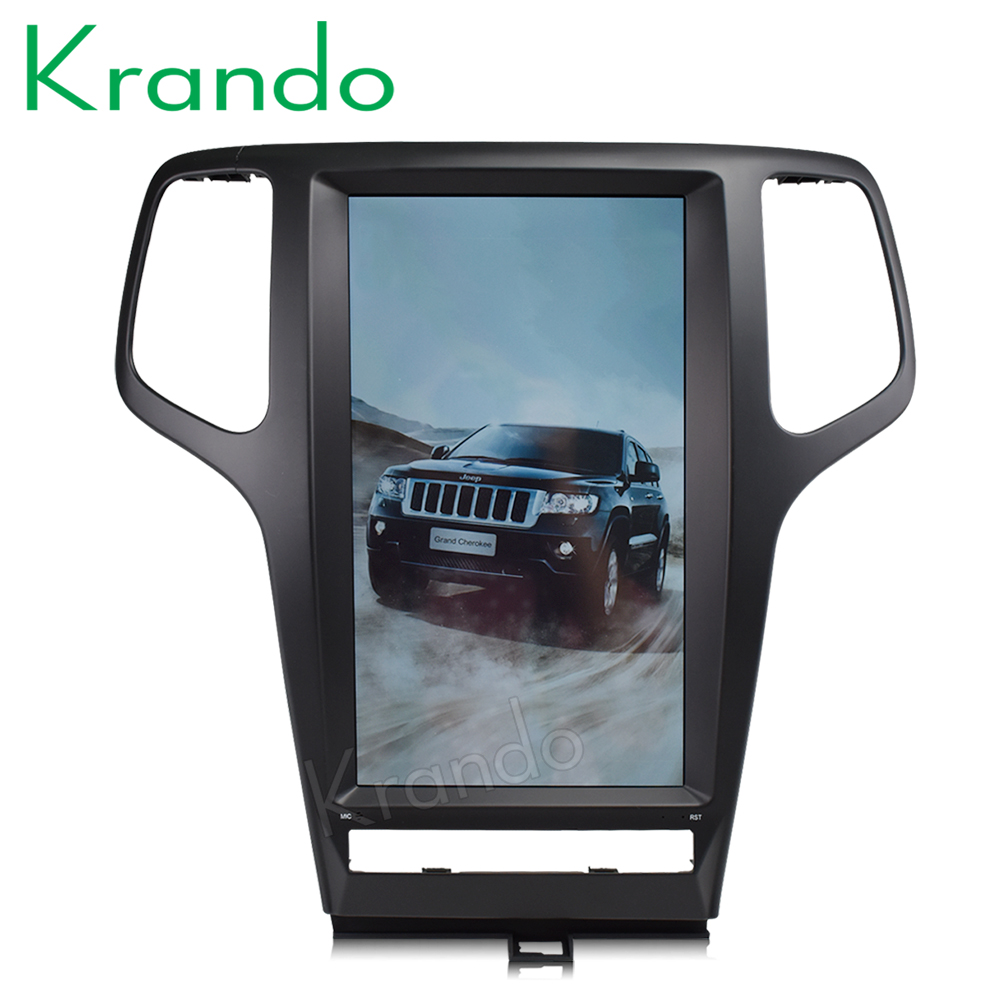 """Krando Android 6.0 13.3"""" Tesla Vertical screen car radio gps navigation for 2011 2013 JEEP Cherokee  multimedia system WIFI-in Car Multimedia Player from Automobiles & Motorcycles    1"""