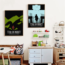 Hobbit Classic Movie Decoration A4 Canvas Painting Art Print Poster Picture Wall Paintings Home