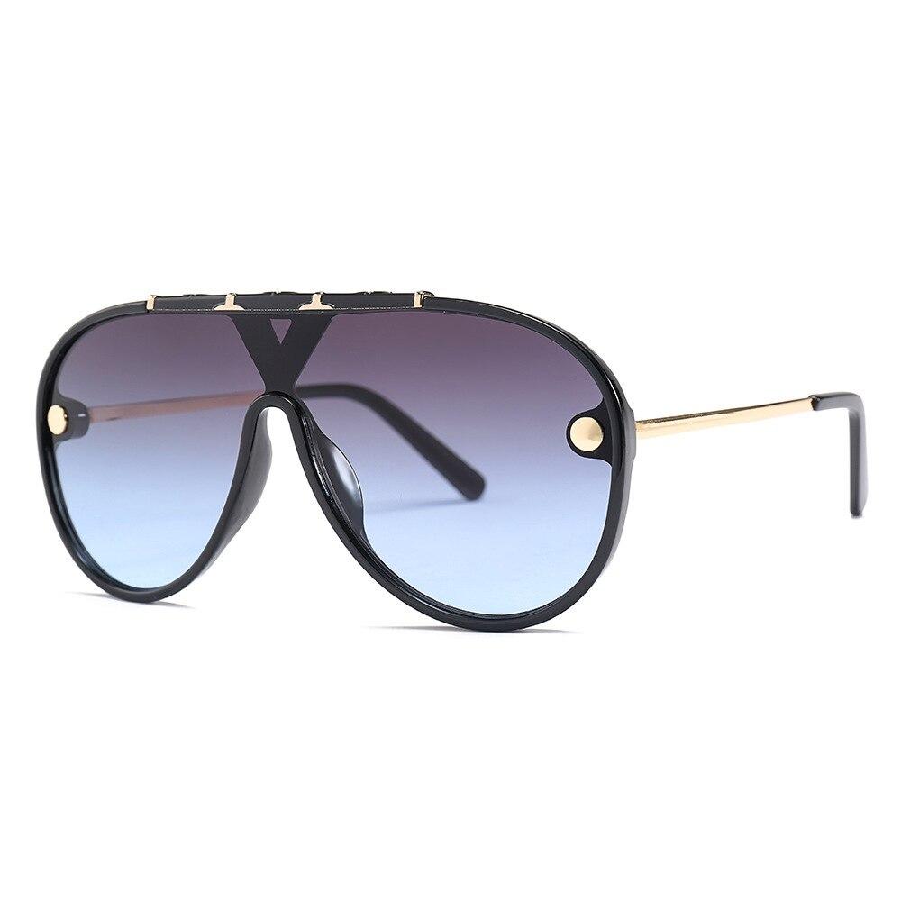 LONSY Fashion Sunglasses For Women Brand Designer Oversized Frame Sun Glasses Female Ladies Eyewear UV400