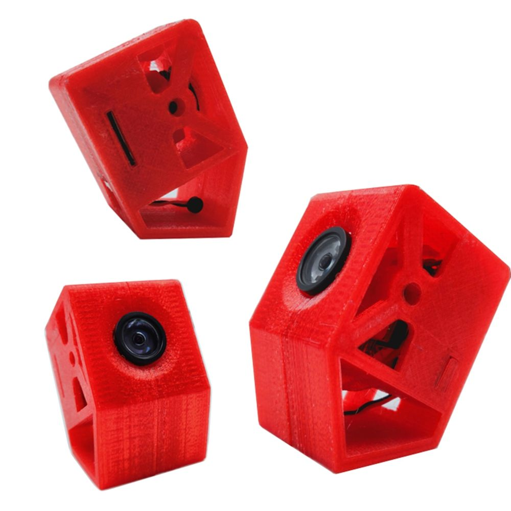 3D-printed TPU 30 Degree Tilt Racer Camera Case Fixed Base Mount For Caddx Turtle V2 Camera FPV RC Racing Drone Spare Part DIY 3D-printed TPU 30 Degree Tilt Racer Camera Case Fixed Base Mount For Caddx Turtle V2 Camera FPV RC Racing Drone Spare Part DIY