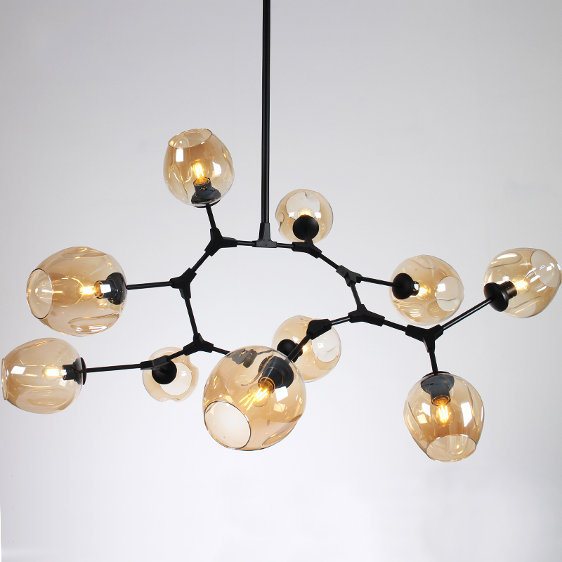 Active Globe Branching Bubble Chandelier 110v220v Nordic Modern Chandelier Light Lighting Pendent Lamp Glass Ball Lamp Special Summer Sale