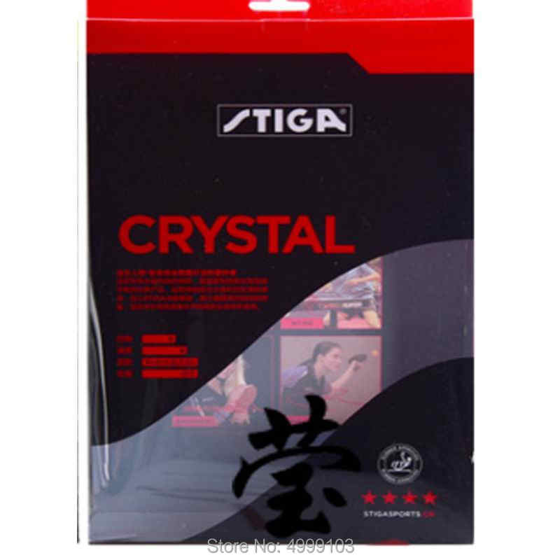 Original stiga 4 stars finished table tennis racket crystal good in speed and control suit for fast attack with loop