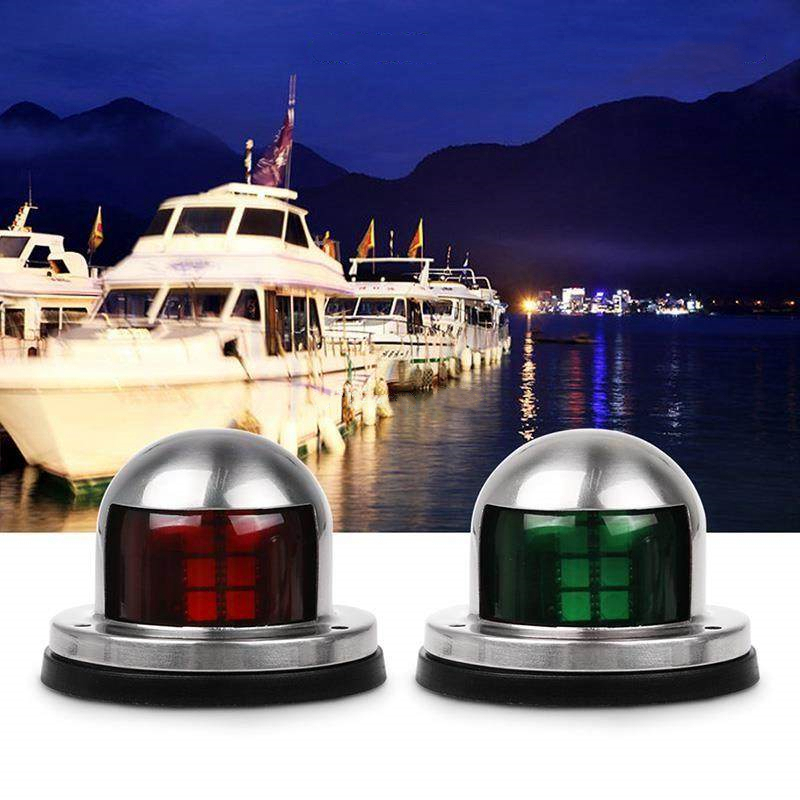 Marine Hardware Cheap Sale 1pair 12v Marine Boat Yacht Led Bow Navigation Light Stainless Steel Red Green Sailing Signal Light Atv,rv,boat & Other Vehicle