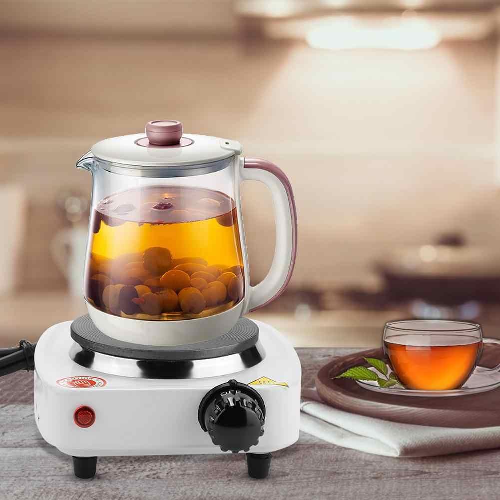 食品炊飯器ポータブル電気カウンター用茶コーヒーキッチン単一の加熱プレートバーナー (EU プラグ) プラーク chauffante