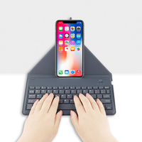 Bluetooth Keyboard For Apple iPhone X XS 8 Plus 8plus Mobile phone Wireless Bluetooth keyboard for iphone X S xs Max Air Case
