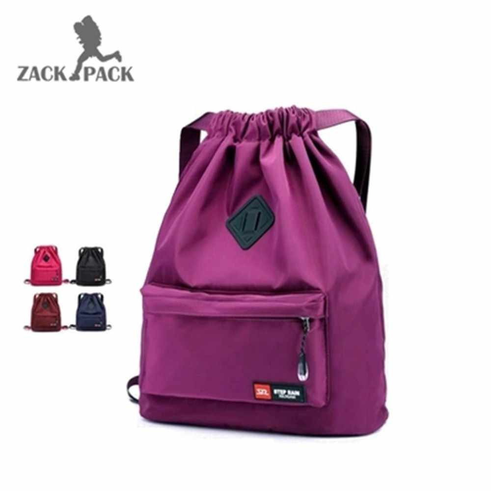 39740212af Detail Feedback Questions about Waterproof nylon backpack women Korean  version of the tide college wind Oxford cloth wild drawstring shoulder bag  school ...