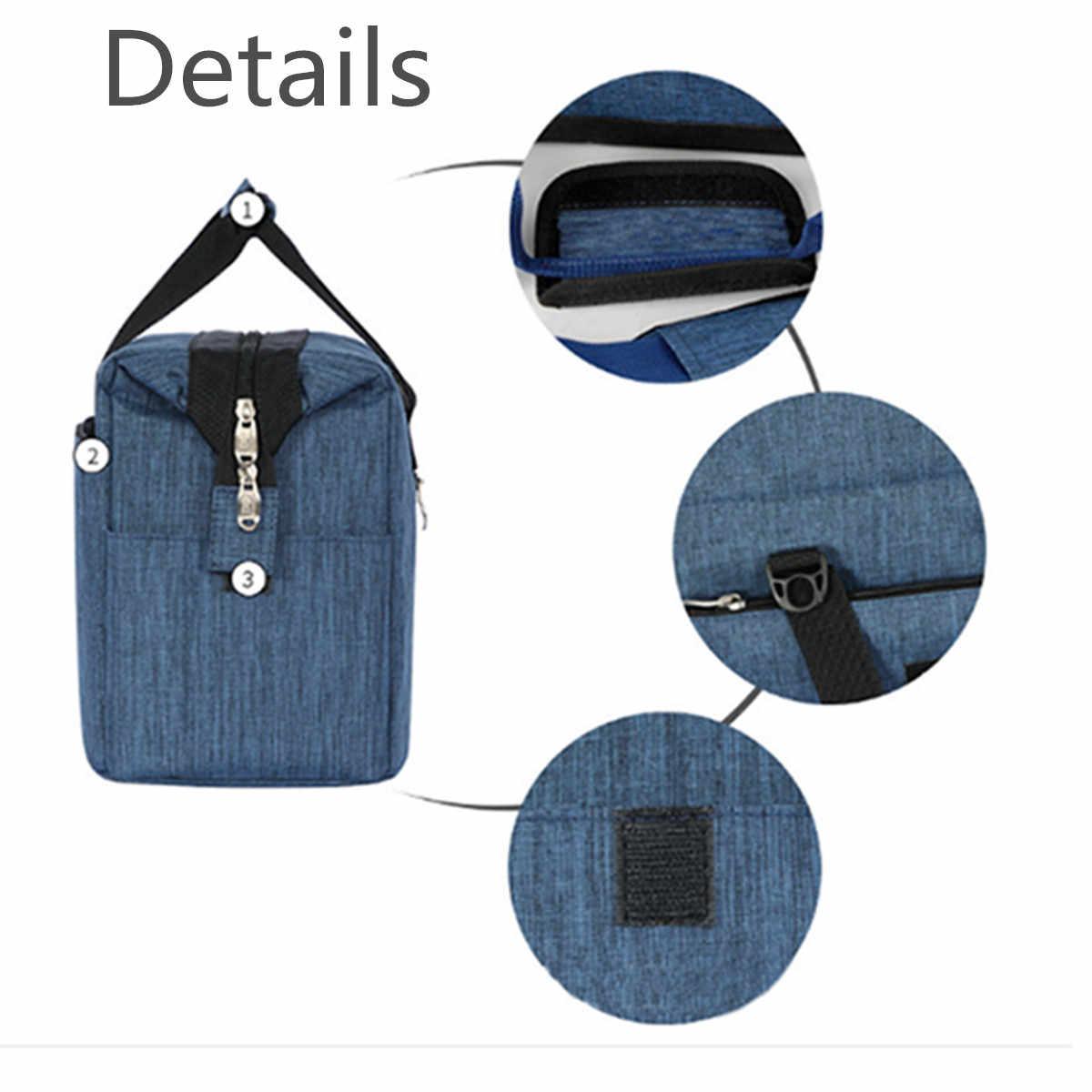 Ткань Оксфорд 10L большой Термосумка для льда изолированные пакет Напитки Еда термальность досуг сумки плеча мешок пикника коробка-сумка для обеда