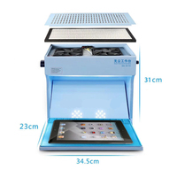Mini Dust Free Room Work Cleaning Table for Cellphone LCD Screen Repair Strong Dust Absorption Tools