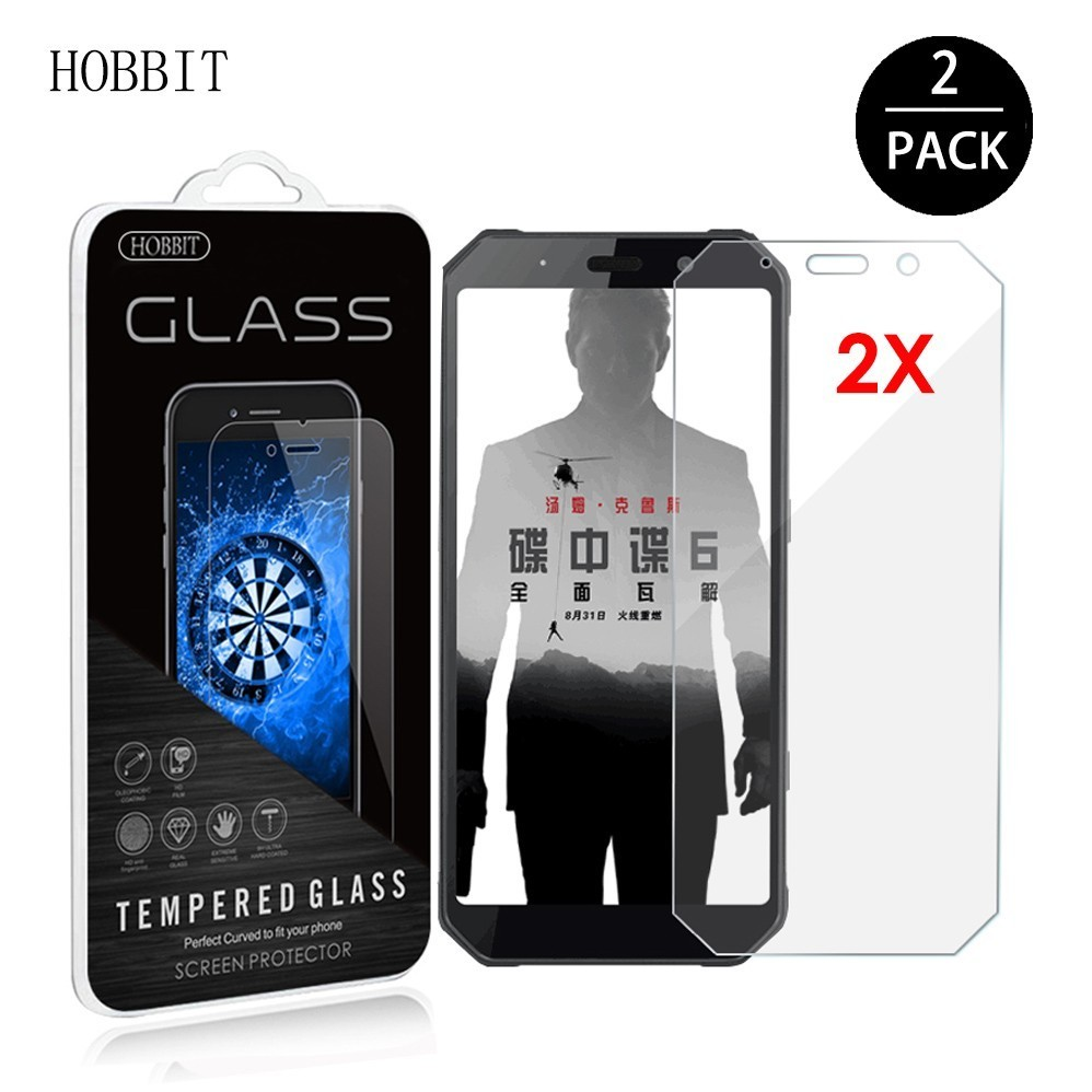 2PACK For AGM A9 H1 9H 0.3mm 2.5D Clear Tempered Glass Screen Protector Ultra-thin Anti-scratch Film for agm h1 Cover Guard