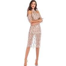7fce7ea25ff MUXU or mode femmes sequin glitter robe sexy bretelles fringe transparent  robe parti robes vêtements l