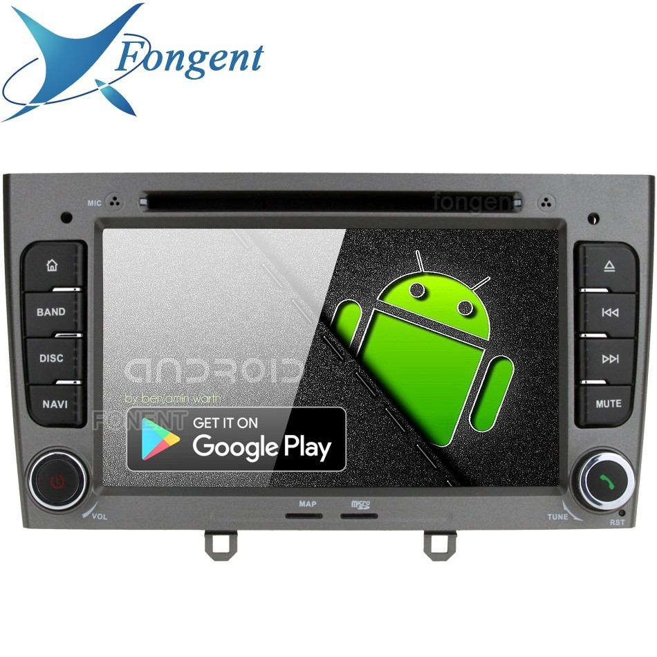 Android 9 0 for Peugeot 408 2010 2011 Peugeot 308 2008 2009 2011 Car DVD font