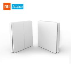 Original Xiaomi Aqara Smart ZigBee Wireless Switch Light Remote Control ZigBee Wireless Key Wall Switch Work With Mi Home APP