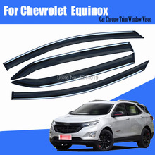 Car Sun Visor Window Rain Shade for Plastic Accessories For Chevrolet Equinox