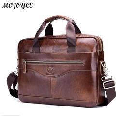 Bullcaptain ombro mensageiro bolsas de couro marrom dos homens negócios portátil maleta viagem sacos crossbody lbolso de mano 2019