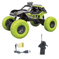1:20 RC Off road Vehicle Alloy Climbing RC Car Toy with Independent Shock Absorber System for Kids Green