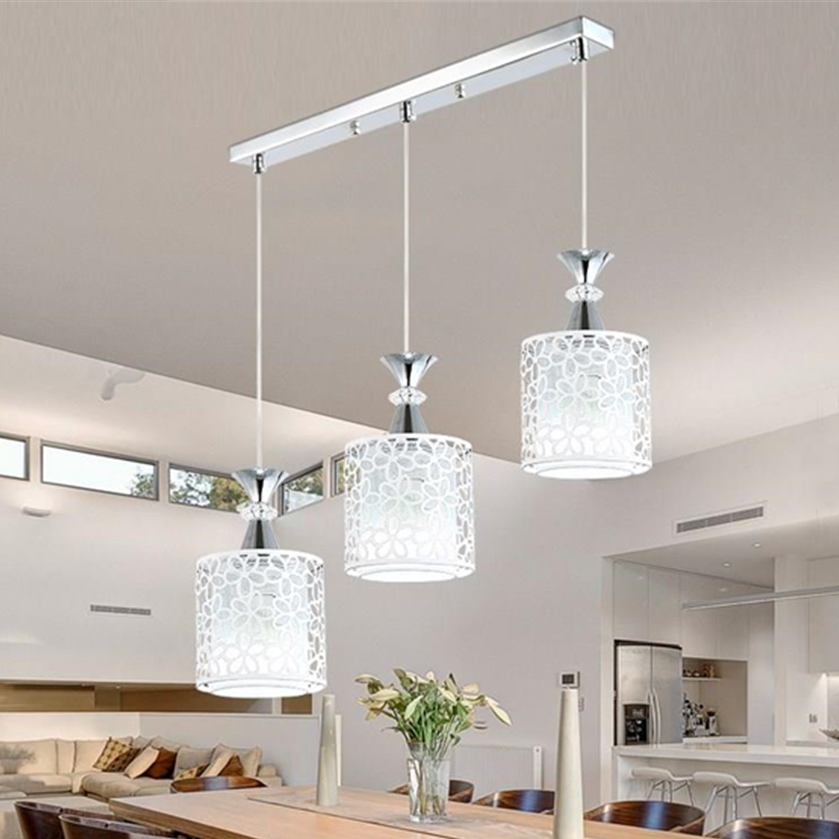 Modern Crystal Ceiling Lamps LED Lamps Living Room Dining