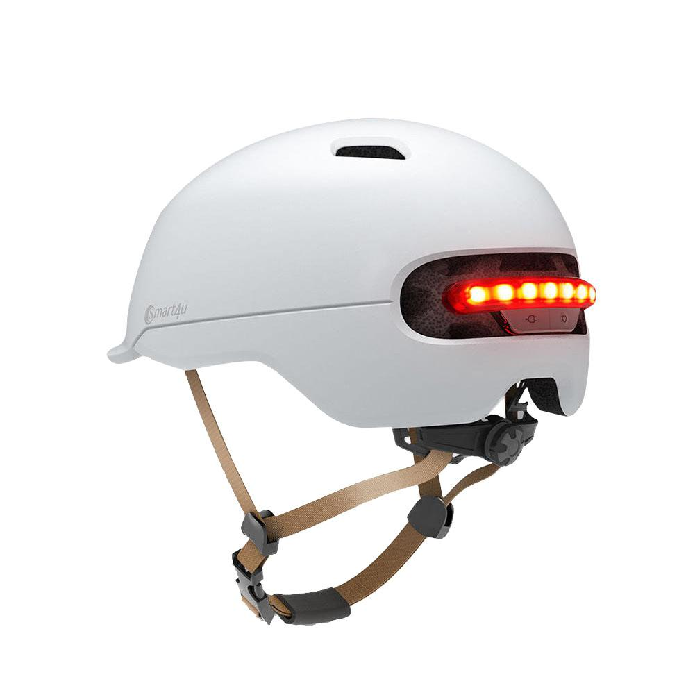 Mounchain Inteligentes Ciclismo Traseira LED Luz EPS Ajustável Respirável Ventilação IPX4 Capacete Da Motocicleta