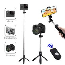Extendable Selfie Stick with Wireless Remote and Tripod Stand Bluetooth Selfie StickTripod Digital Cameras for iPhone X/iPhone