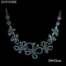 ZOTOONE Strass Crystals HotFix Flatback Rhinestones for Clothes Wedding Dress Rhinestone Applique Stickers Needlework Crafts