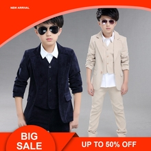Spring children's leisure clothing sets kids baby boy suit vest+outwear+pants gentleman clothes for  formal clothing 3pcs 2pcs new children s leisure clothing sets kids baby boy suit vest gentleman clothes for weddings formal clothing toddler boys