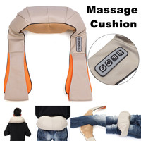 U Shape Electrical Body Massage Kneading Shawl Vertebra Massage Professional Neck Shoulder Device Car Household Massager Tool