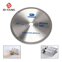 10''/250mm Circular Saw Blade Carbide Alloy Cutting Disc 120Teeth Saw Web With 25.4mm Bore For Wood Aluminum Tool Accessories