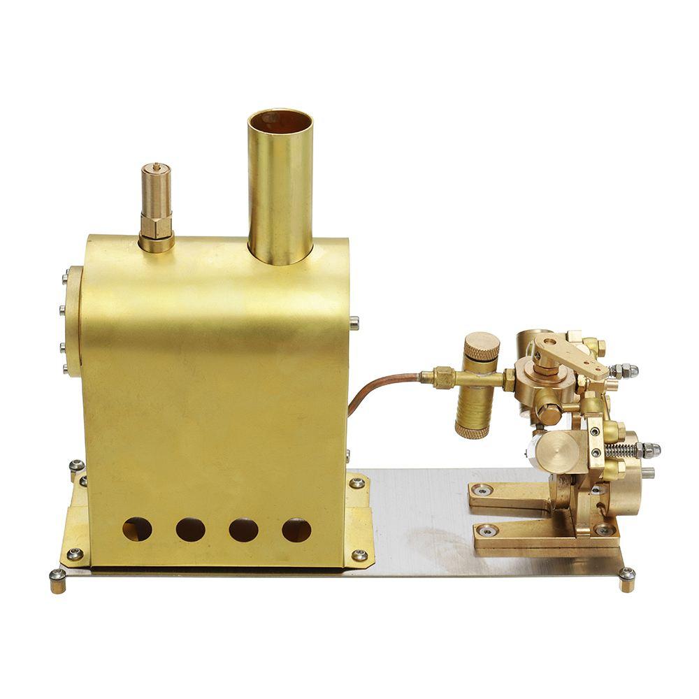 Mini chaudière à vapeur Stirling moteur moteur modèle chaleur vapeur éducation bricolage modèle jouet cadeau pour enfants artisanat ornement découverte jouet