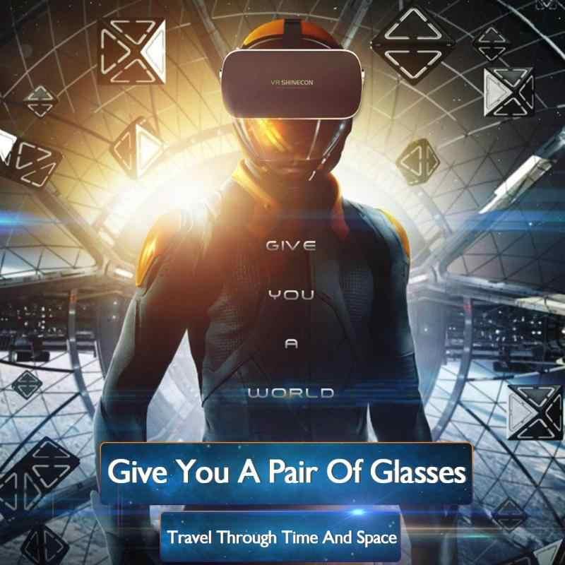 3D VR Очки виртуальной реальности оптические линзы Googles картонная гарнитура шлем для 4,7-6 дюймов смартфон
