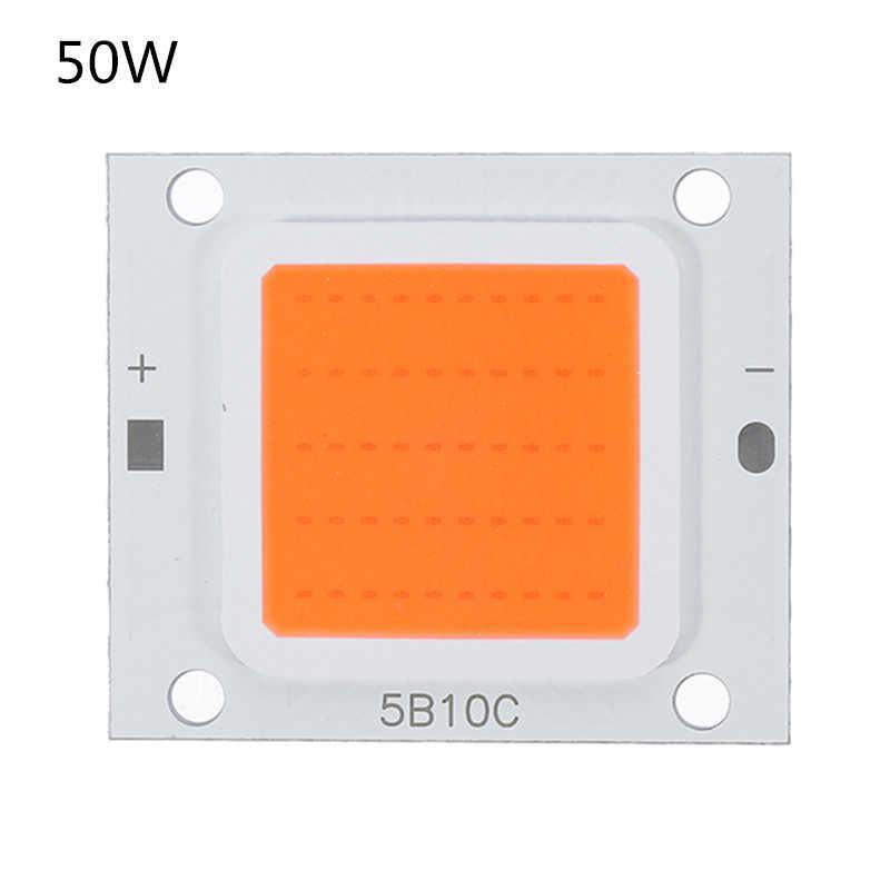 CLAITE lleno espectro LED crecer Luz de 10 W 20 W 30 W 50 W 70 W 100 W DC9-10V /DC20-32V para Chip de luz de cultivo de plantas interiores