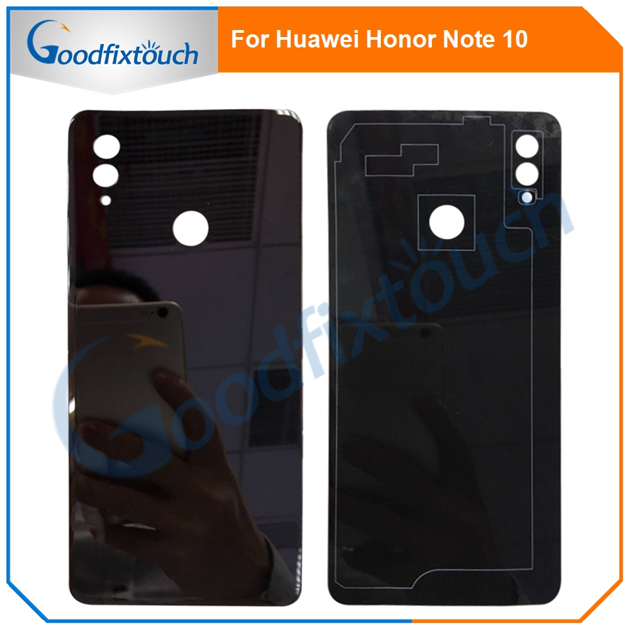For Huawei Honor Note 10 Glass Battery Back Cover Panel Rear Cover Housing Door For Huawei Honor Note10 Replacement Parts image