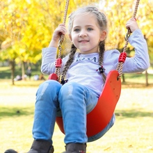 "Swings Seats Heavy Duty 66"" Chain Plastic Coated   Playground Swing Set Accessories Replacement With Snap Hooks"