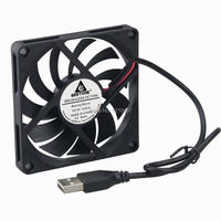 100 Pieces lot 8010 80mm x 10mm 8CM DC 5V USB Cooler Radiator Cooling Fan