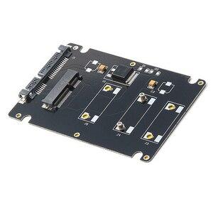 Image 4 - Mini PCIe MSATA SSD 2.5 Inch SATA3 Adapter Thẻ Với 7 Mm Độ Dày Đen