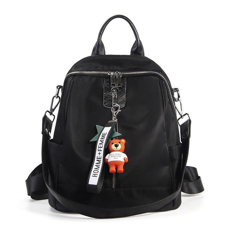 Yicana Nouveau style femmes de Mode Coréenne version Sacs À Dos tissu oxford imperméable à l'eau sac en nylon poche Fille voyage sacs