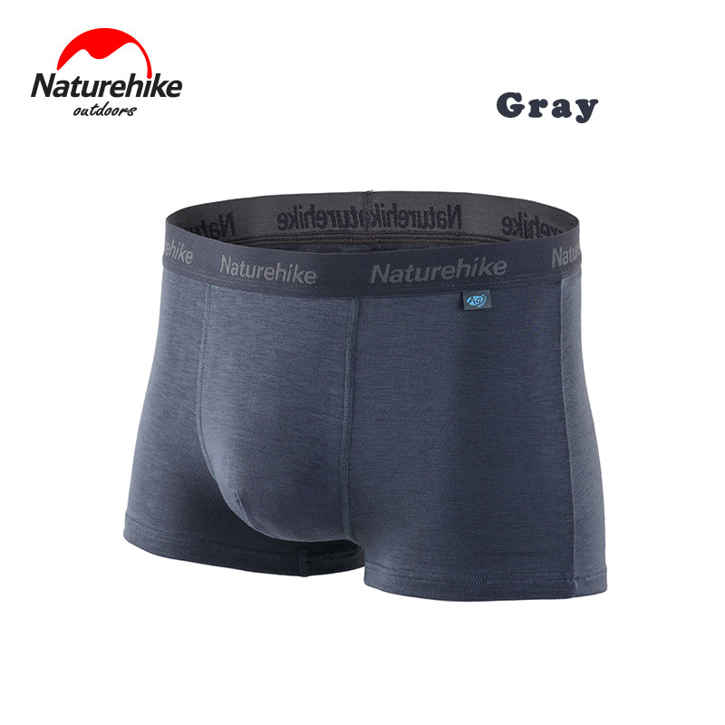 Naturehike Quicky-drying Men's Flat Angle Underpants Hygroscopic Climbing Underwear Outdoor Sport Breathable Swimming Trunks