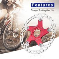 203 F1 Bike Brake Rotors MTB Cooling Float Disc Brake Bicycle Accessories Automatic correction when the disc slightly deformed