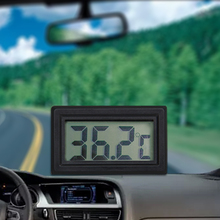 Мини цифровой термометр домашний автомобильный комплект электронный термометр Autos ЖК-дисплей крошечный термометр встроенный зонд#2