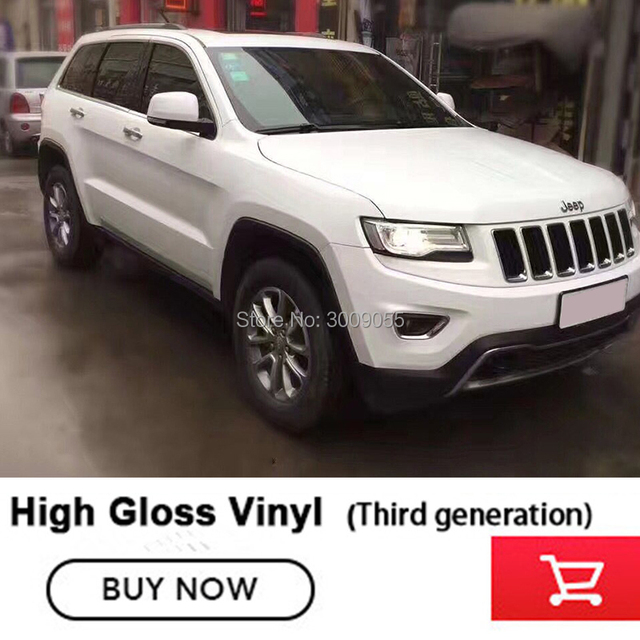 Glossy Vinyl Car Wrap Vinyl Film glossy Vinyl Wrap Bubble Free Car Wrapping Size:1.52*20m Roll Third generation glossy vinyl