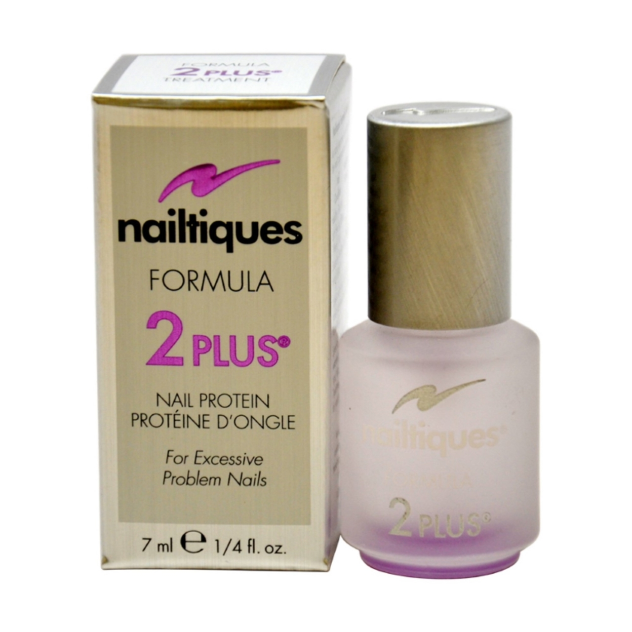 Nail Protein Polish: Nail Protein Formula # 2 Plus By Nailtiques For Women 0.25