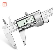 Stainless Steel 6inch 150mm Digital Vernier Calipers Caliper Paquimetro Measuring Tool  DIY Measure Tools Craftsmen Measurement inside micrometers single rod 125 150mm 5 6inch 303 06 050