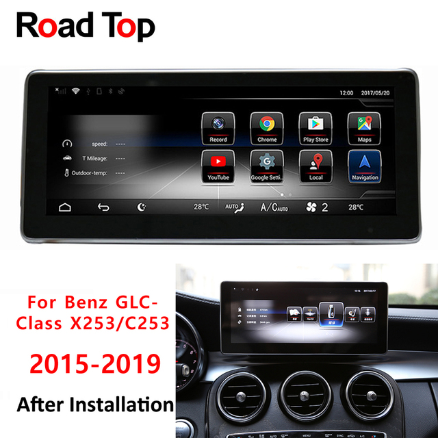 10 25 Touch Screen Android Gps Navigation Radio Stereo Dash