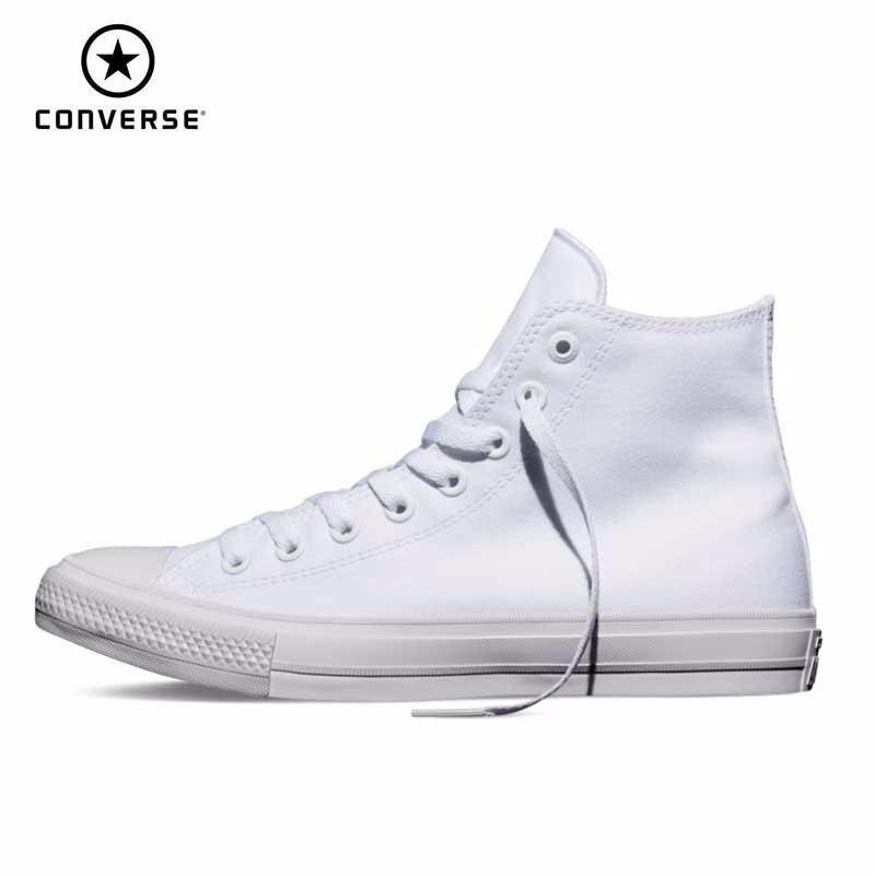 Converse Chuck Taylor All Star II résistant à l'usure loisirs unisexe hommes & femmes baskets haute classique skateboard chaussures 150148C