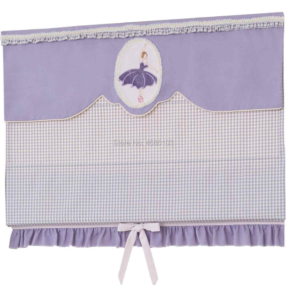 Ballet Girl's roman blinds Children's Room roller blinds Korean Princess's room window blinds and shades door blinds for bedroom
