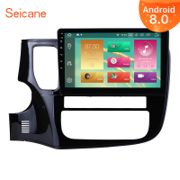 Seicane Stereo 1Din HD 10.1 Android 9.0 Car Auto Radio For Mitsubishi Outlander 2014 2015 2016 2017 Multimedia Player GPS Navi