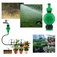 Automatic Mechanical Water Timer Irrigation Controller For Hose Faucet Garden Lawn Sprinkler|Garden Water Timers| |  -