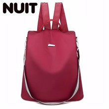 Oxford Backpack Bags Waterproof Back Pack Students Girls Bag Female Rucksack Fashion Lady Luxury Backpacks Women