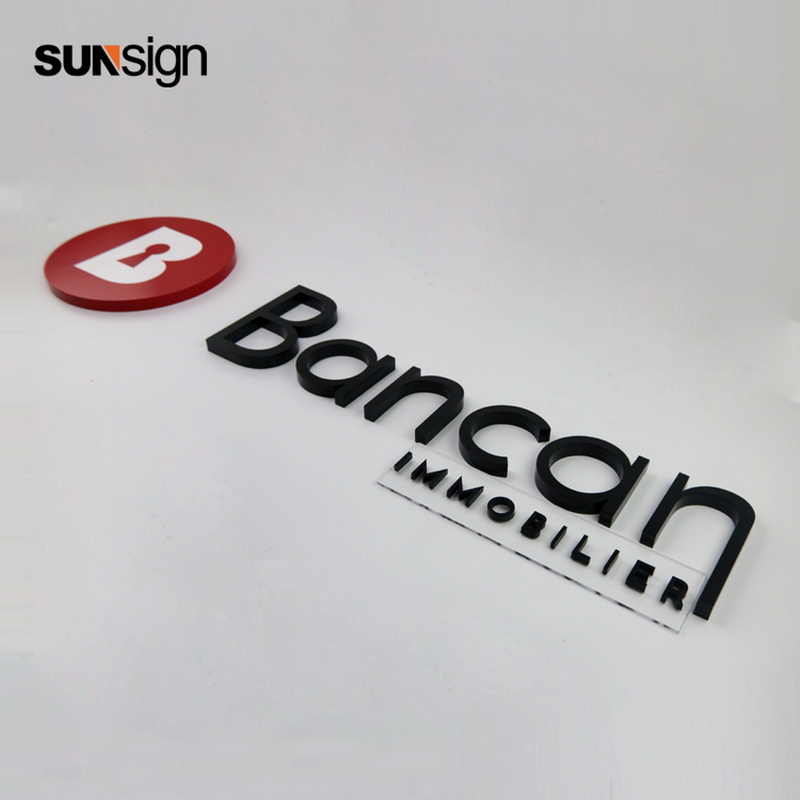 Customized High Quality 3d Channel Letters Company Logo For Wall