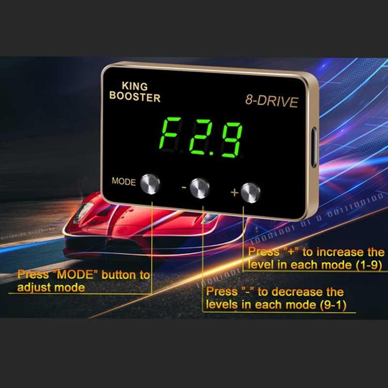 Sprintbooster throttle response enhancer for PEUGEOT 206+ 207 308 407 3008 5008 CITROEN C3 C4 C5